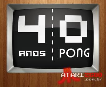 Grande homenagem para o aniversário de 40 anos de Pong